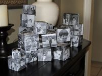 Photo Cubes 200x150 Personalize your Home: 10 Unique and Exquisite DIY Photo Displays