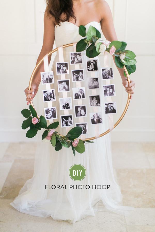 Floral Photo Hoop