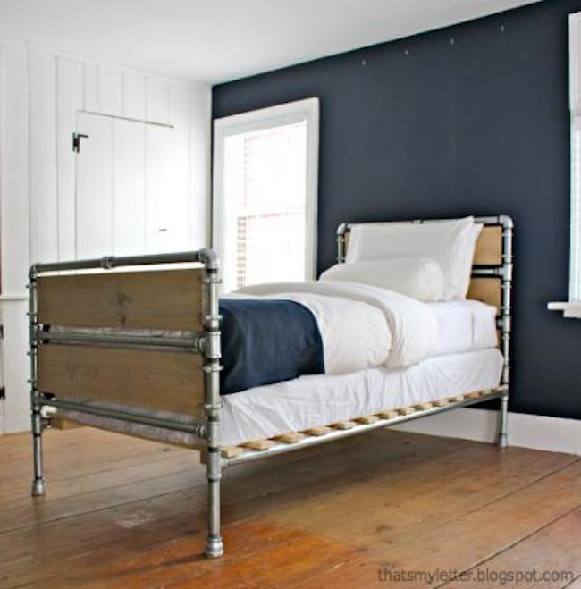 Plumbing Bed