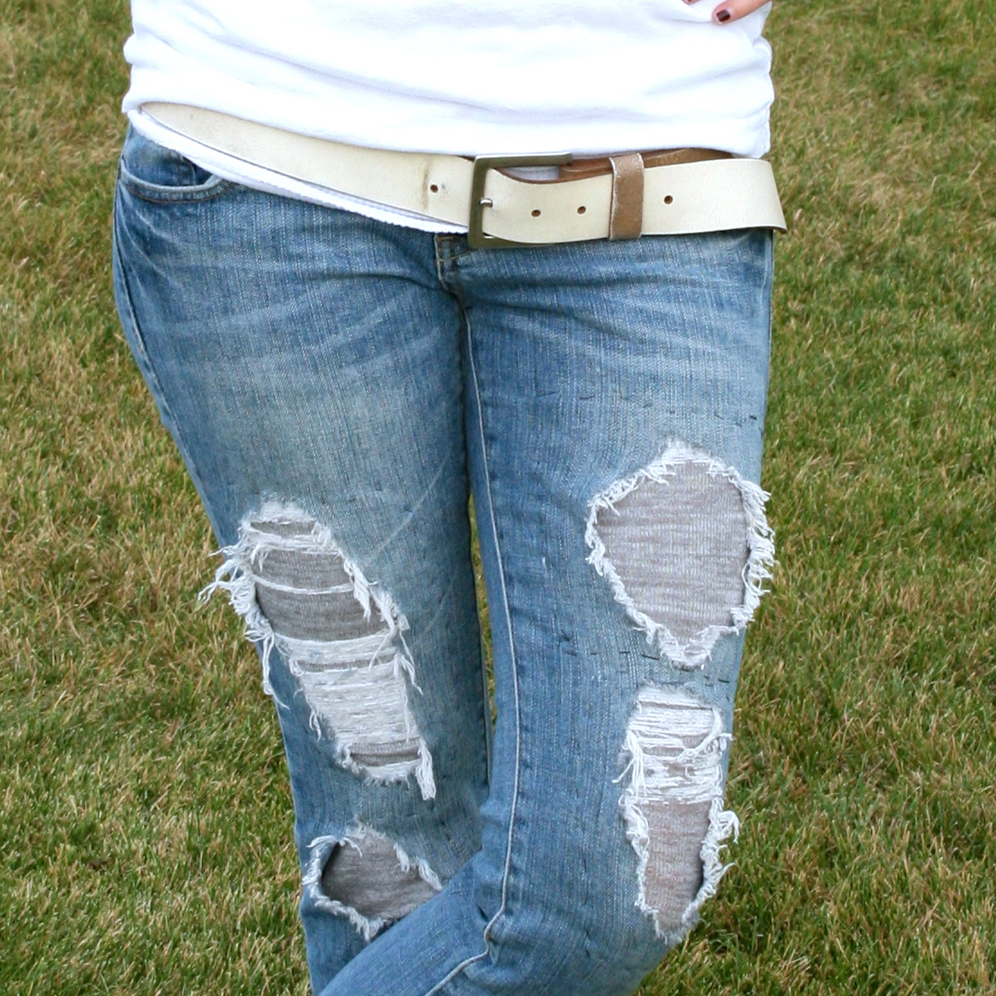Refashioned Jeans