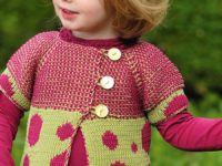 Reversible Cardigan 200x150 DIY Knitted Children's Cardigan Patterns