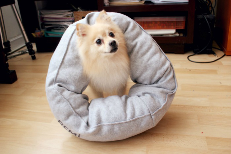 Round Pillow Bed