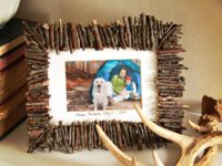 Amazing Rustic Photo Frames You Can Make Yourself