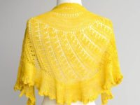 Shattered sun shawl 200x150 Gorgeously Intricate Lace Shawls for Advanced knitters
