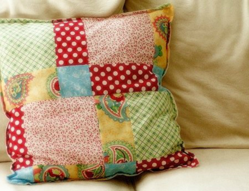 Simple Patchwork Pillow