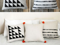 Simply painted embellishments 200x150 DIY Pillow Cases Youll Love Laying On