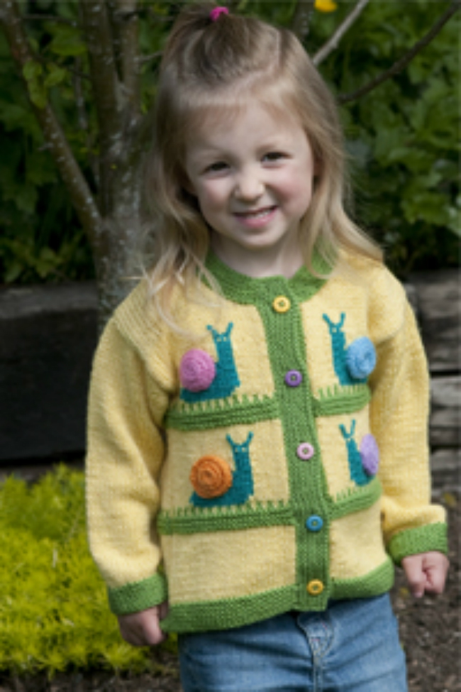 Diy Knitted Childrens Cardigan Patterns