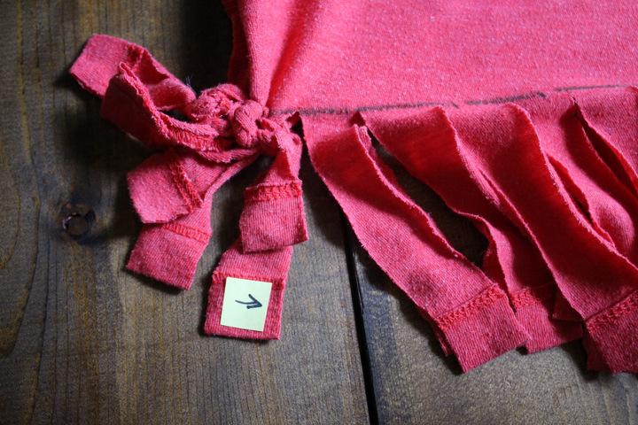 T-shirt tote bag – Step 11