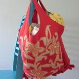 How to Turn an Old T-Shirt Into a No-Sew Tote Bag