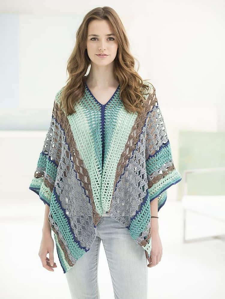Summery Clement Canyon Poncho