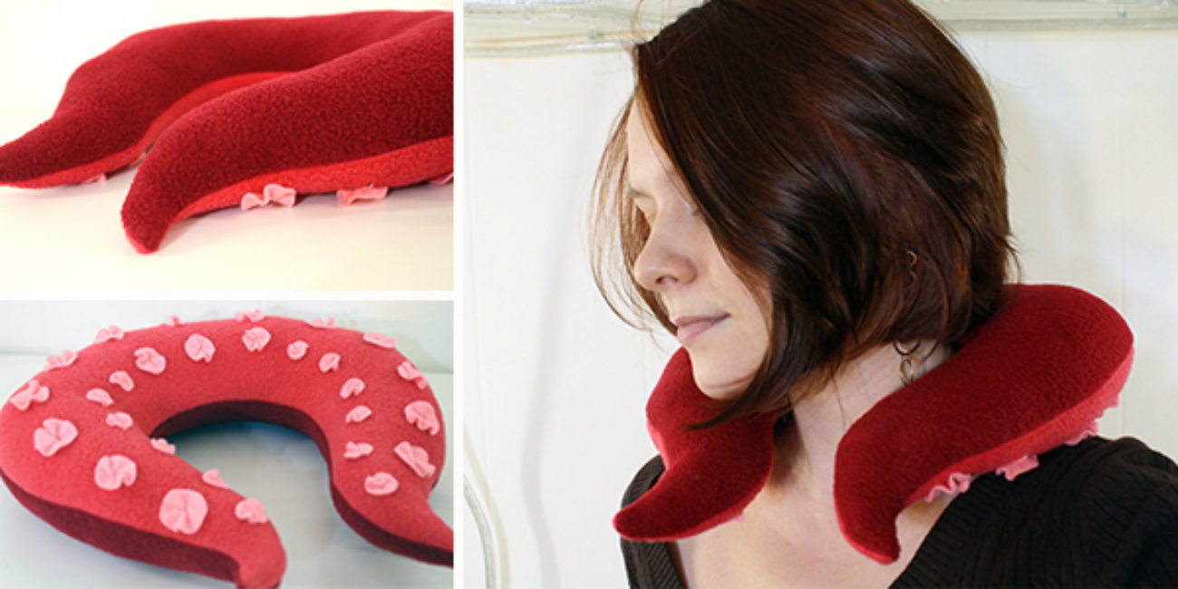 Tentacle Neck Pillow