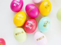 Typography 200x150 12 Totally Unique Easter Egg Decorations
