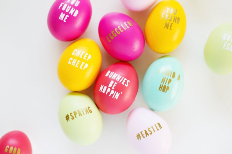 Typography Easter Eggs