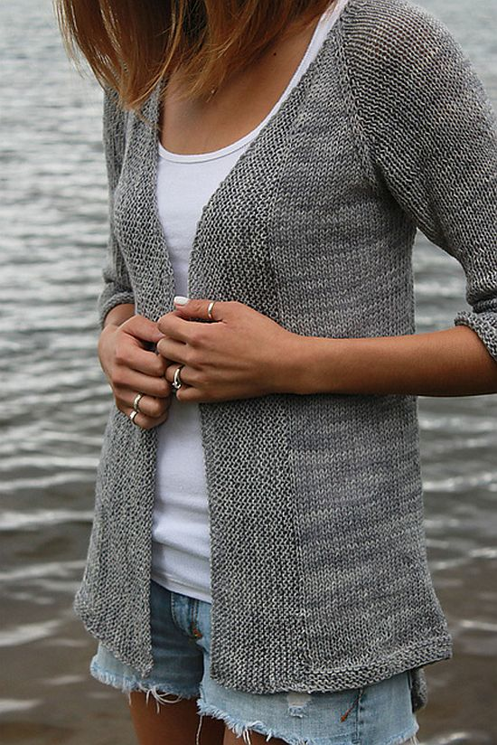 Unassuming Lightweight Cardigan
