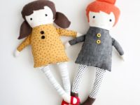 black apple doll 200x150 Create a Special Friend for Your Child with These Adorable Free Doll Patterns