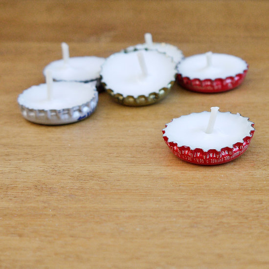 bottlecap candles