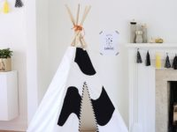 chic 200x150 9 DIY Teepees For You And Your Kids