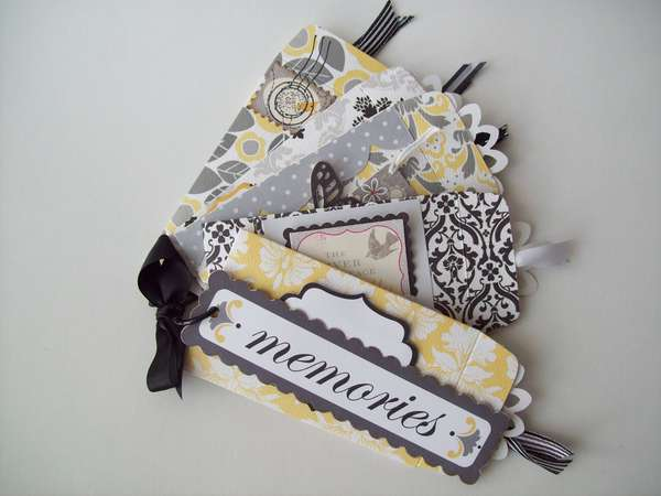 coin envelope scrapbook
