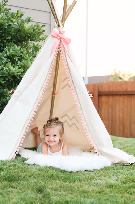 Girly Teepee