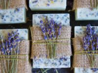 lavender soap 200x150 13 Clever Melt and Pour Soap Making Ideas