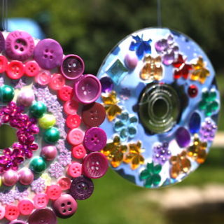 From the Colorful to the Creative: Ingenious Upcycled CD Crafts