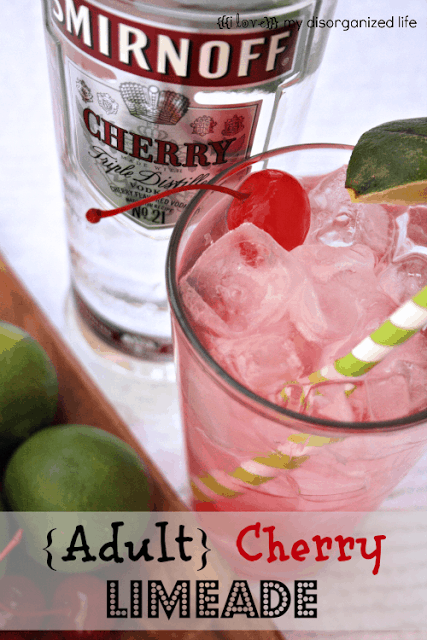 Adult cherry limeade