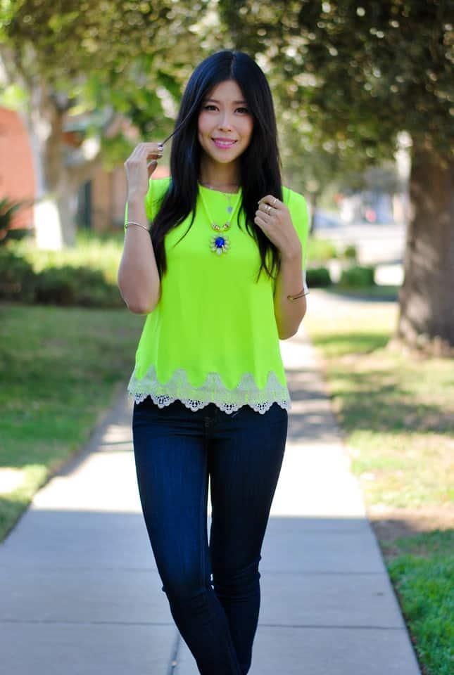 All neon shirt