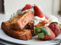 Angel food cake French toast sticks 200x150 15 Mouthwatering Recipes for Angel Food Cake Enthusiasts