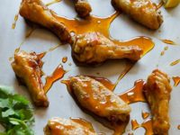 Asian caramel wings 200x150 Chicken Wing Flavours for Every Summer BBQ