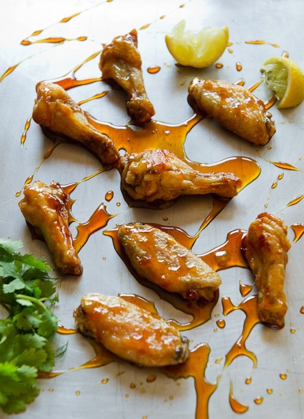 Asian caramel wings