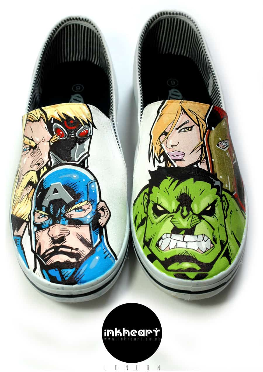 Best Custom Painted Shoes