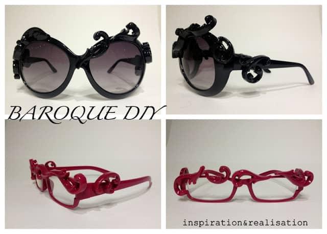 Baroque DIY glasses