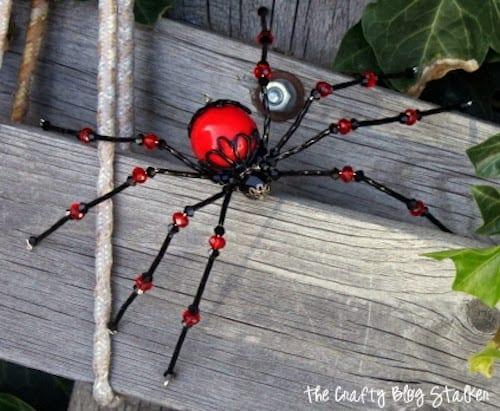Beaded garden spider