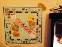 Board game wall art 200x150 Renewed Nostalgia: Fun Ways to Repuropse Old Board Games
