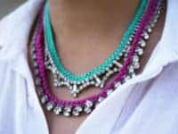 Braided rhinestone necklace 200x150 Dazzle and Bling: 15 Cool Crafts For Rhinestone Addicts