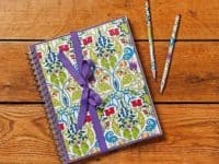 Bright journal set 200x150 Give Your Favorite Adult Coloring Book Pages a New Life