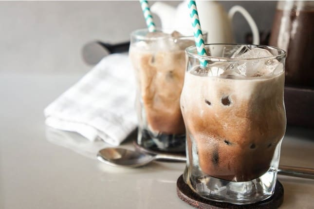 Caramel mocha coffee concentrate