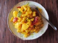 Chili and mustard pineapple side dish 200x150 15 Delicious Recipes for Pineapple Lovers