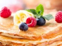 Coconut chia protein pancakes 200x150 Delicious Recipes That Prove the Greatness of Chia Seeds