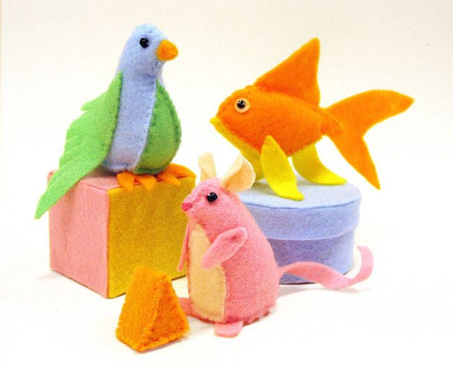 Cot soft toys