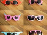 Crazy party sunglasses 200x150 DIY Sunglasses That Are Perfect For The Beach