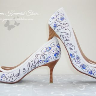 Personalized Style: 15 Fabulously Chic Hand Painted Shoes