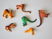 Dinosaur magnets 200x150 DIY Fridge Magnets to Spice Up Your Kitchen