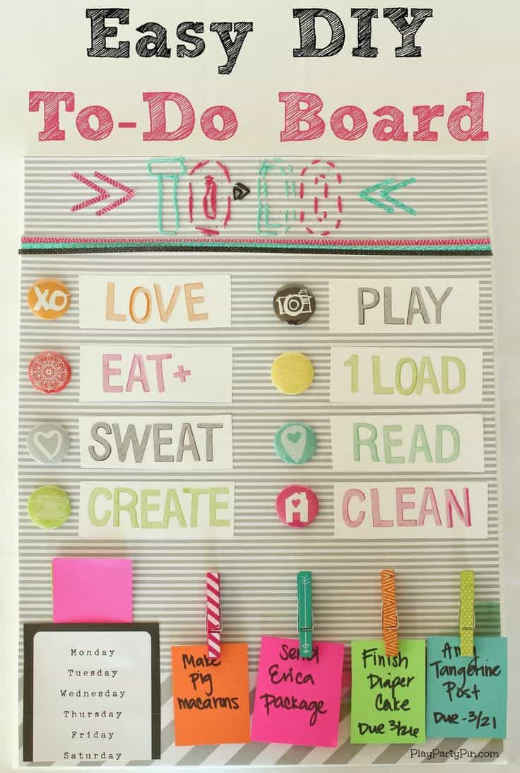 diy to-do lists that will totally motivate you