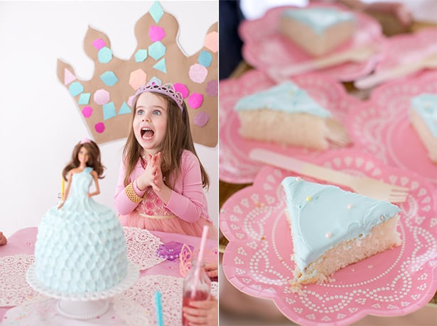 Fairytale princess cake