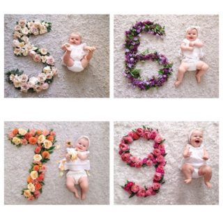 15 Cute Monthly Baby Photos Ideas (Create Memories)