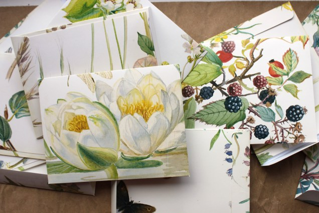 Gardening book envelopes