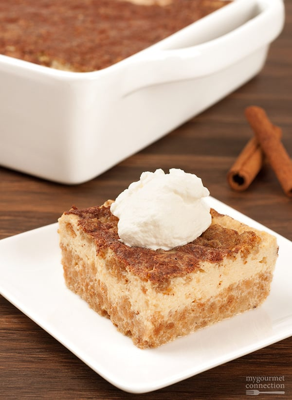 Grape nut custard pudding