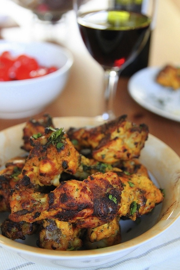 Indian style wings