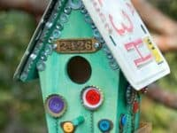 Junk store birdhouse 200x150 10 DIY Birdhouses For Your Feathered Friends